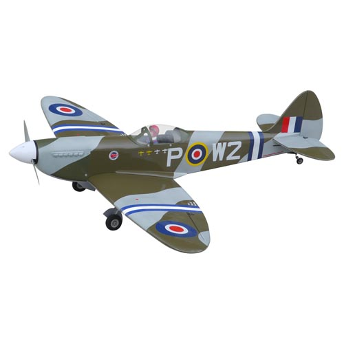 Spitfire 40 (Camouflage) with Electric Retracts - The World