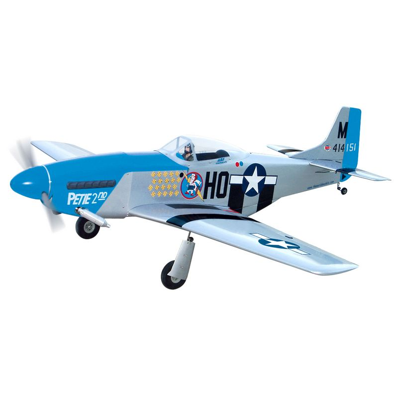 P-51 Mustang 60 with Electric Retracts - The World Models