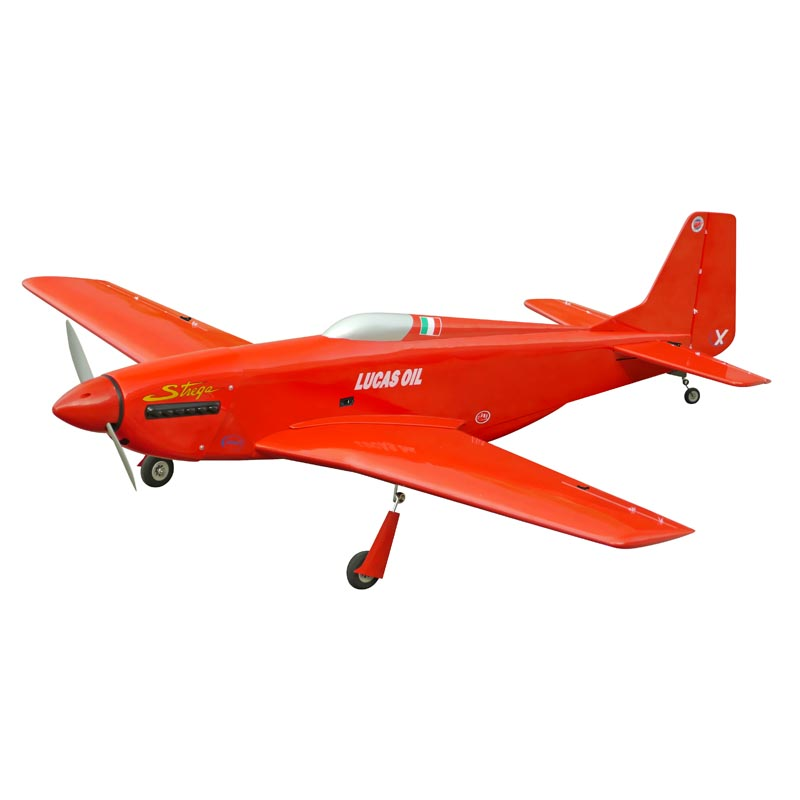 P-51D Strega 40 (Red) with Electric Retracts - The World Models