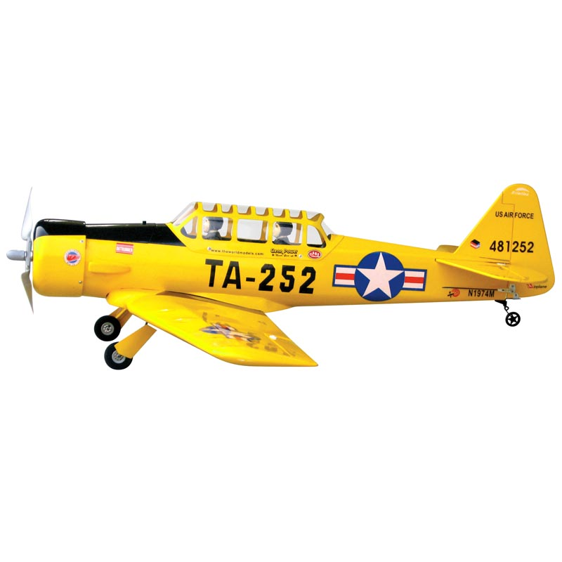 AT-6 Texan EP with Retract Gear (with Motor & Propeller Adaptor)
