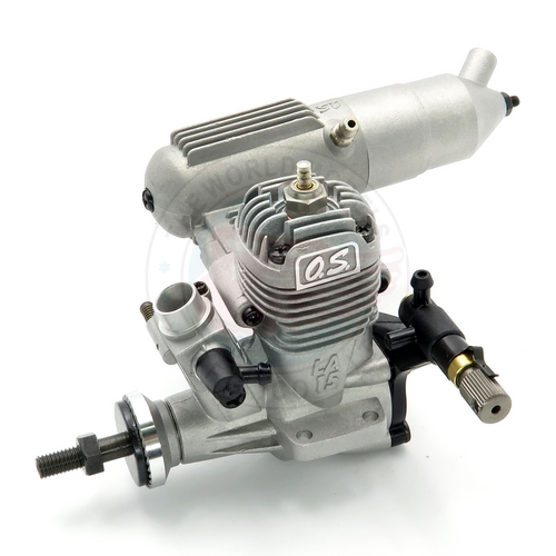 OS ENGINES MAX 15LA 2 Stroke Glow Airplane Engine With 871 Silencer