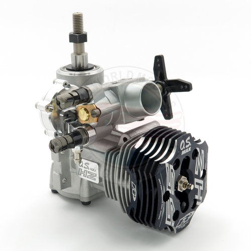 OS ENGINES MAX 55HZ R With Regulator 2 Stroke Glow Helicopter Engine