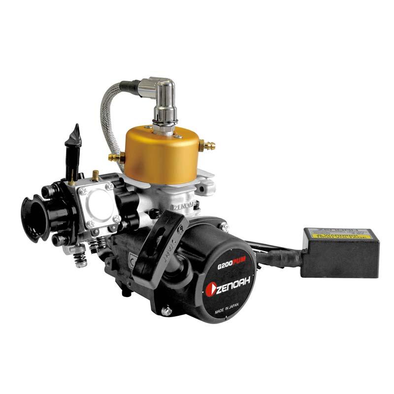 ZENOAH G200PUM 20cc Gasoline Marine Engine - The World Models