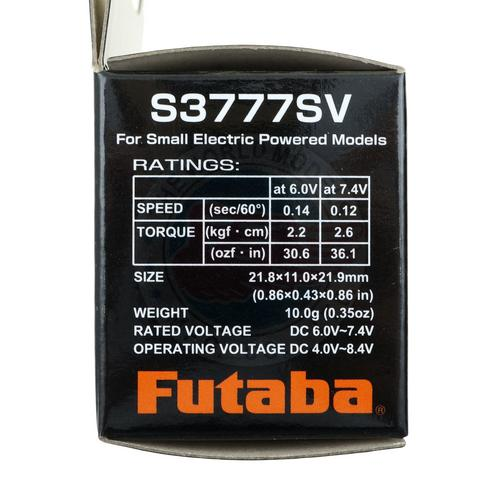 Futaba S3777SV Metal Gear Light Weight HV SBus2 Digital